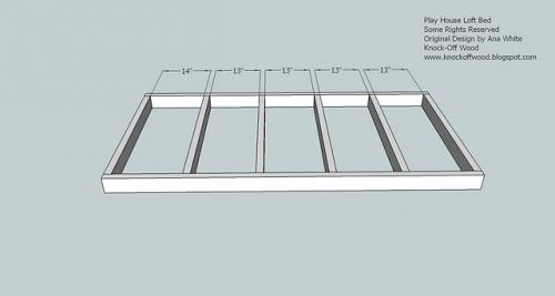 Lovely Playhouse Loft Bed Woodworking Plans 2 · Step 1