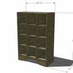 shoe storage woodworking plans 2