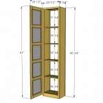 storage tower woodworking plans 2