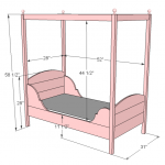 toddler bed woodworking plans 2