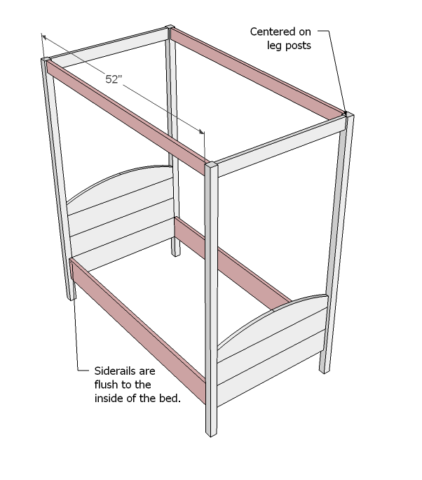 Plans To Build Canopy Bed Plans Free PDF Plans
