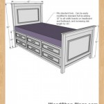 twin storage bed woodworking plans