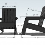 adirondack chair woodworking plans 2