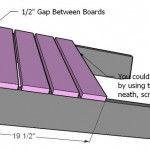 adirondack chair woodworking plans step 03