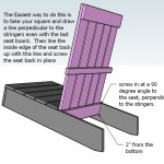 adirondack chair woodworking plans step 05