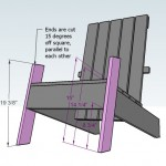 adirondack chair woodworking plans step 06