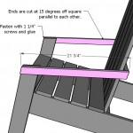 adirondack chair woodworking plans step 07
