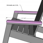 adirondack chair woodworking plans step 08