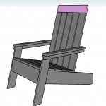 adirondack chair woodworking plans step 09
