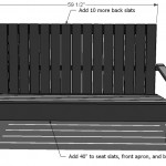 adirondack chair woodworking plans step 10