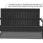 adirondack chair woodworking plans step 12