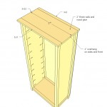 bookcase woodworking plans step 07