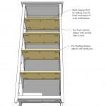 bookcase woodworking plans step 08