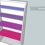 kids bookcase woodworking plans step 08