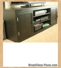 media cabinet woodworking plans