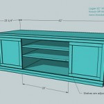 media cabinet woodworking plans 2