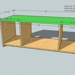 media cabinet woodworking plans step 03