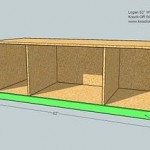 media cabinet woodworking plans step 05