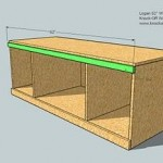 media cabinet woodworking plans step 06
