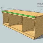 media cabinet woodworking plans step 07