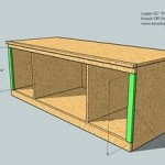media cabinet woodworking plans step 08