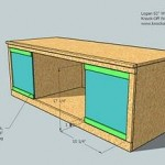 media cabinet woodworking plans step 09