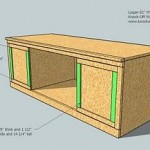 media cabinet woodworking plans step 10