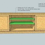 media cabinet woodworking plans step 12