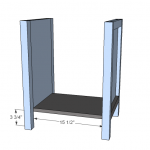 nightstands woodworking plans step 03