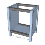 nightstands woodworking plans step 04