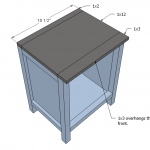nightstands woodworking plans step 05