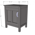 nightstands woodworking plans step 07