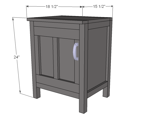 Nightstands woodworking plans woodshop plans for Nightstand plans