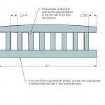storage bench woodworking plans step 01