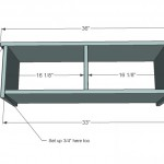 storage bench woodworking plans step 03