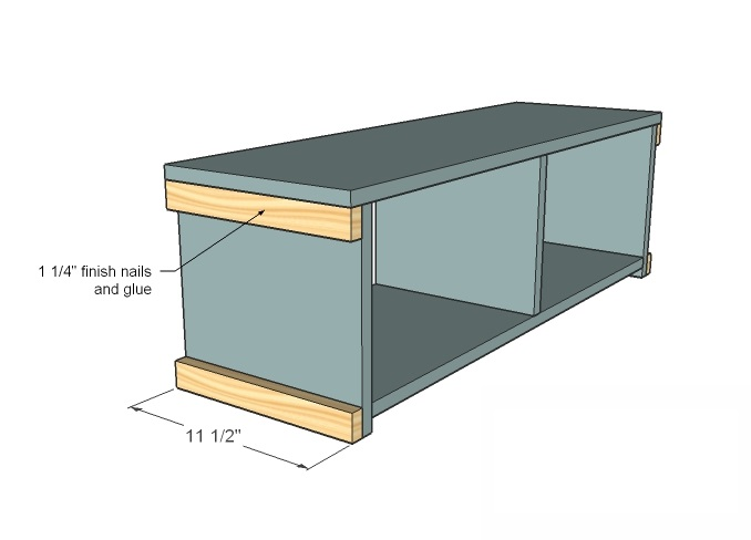 Original Storage Bench Plans Woodworking