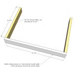 vanity step drawer woodworking plans step 04