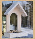 window birdfeeder woodworking plans