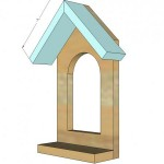 window birdfeeder woodworking plans step 03