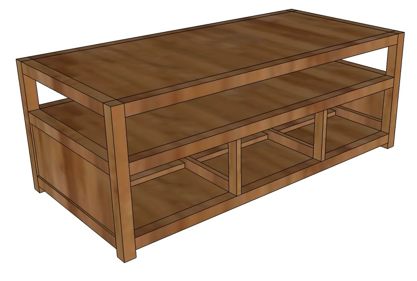 Small wood projects desember 2014 for Small coffee table plans