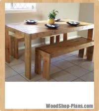 farm table woodworking plans