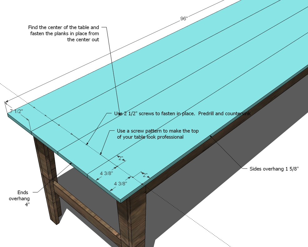 farmhouse sofa or entry table woodworking plans woodshop plans