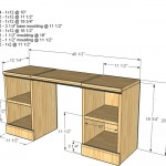vanity woodworking plans 2