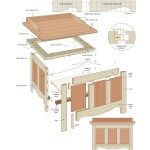 Outdoor storage bench woodworking plans 2