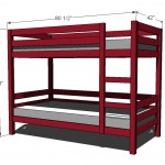 bunk bed woodworking plans 2