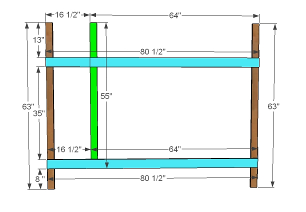 Bunk Bed Dimensions for Pinterest
