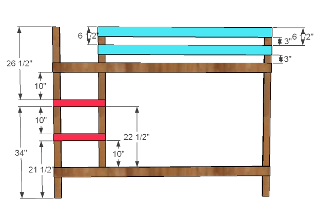 Bunk Bed Woodworking Plans Woodshop Plans