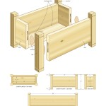 cedar planters woodworking plans 2