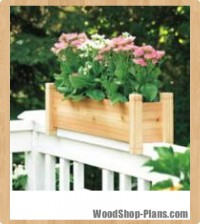 cedar planters woodworking plans