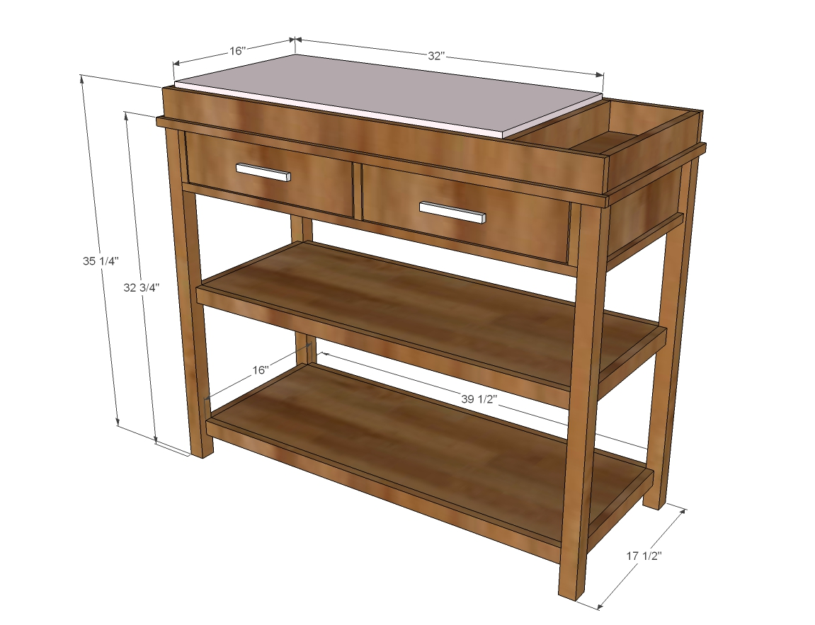 Changing Table Woodworking Plans WoodShop